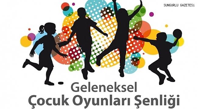 Geleneksel Çocuk Oyunları Şenliği düzenlenecek
