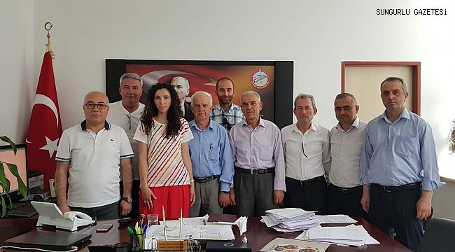 Kafkas Derneği yönetimi Başhekimi ziyaret etti