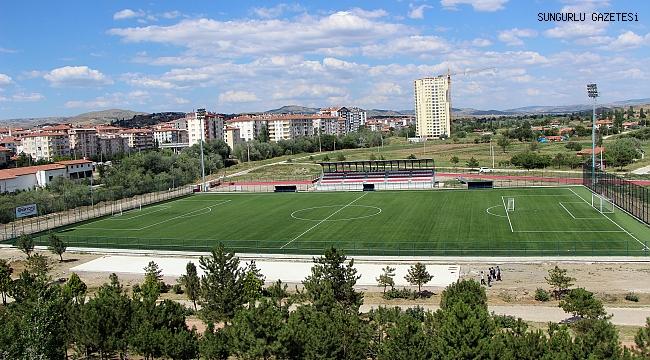Stadyuma 800 kişilik ilave tribün yapılıyor