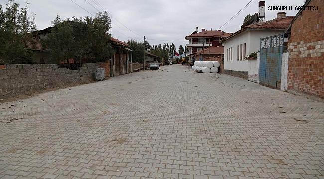 292 köyün parke  taşı ihale edildi