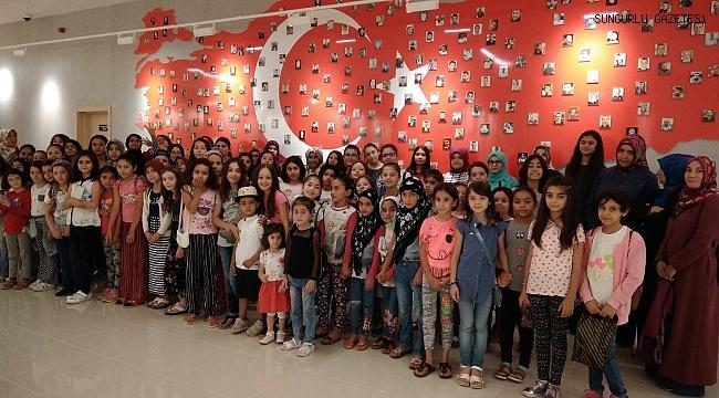 15 Temmuz Şehitleri  Müzesine ziyaretçi akını