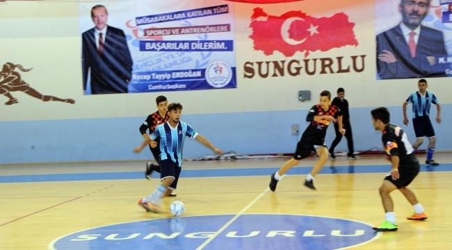 Cumhuriyet Kupası Futsal Turnuvası sona erdi