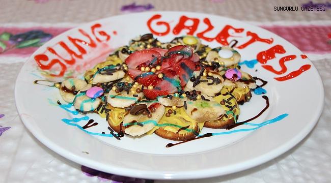 Konya'da tattığı Waffle Sungurlu'ya getirdi!