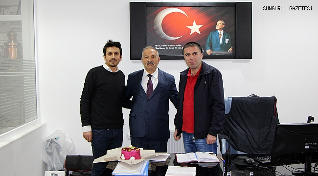 Muzaffer Gellerli'den gazetemize ziyaret