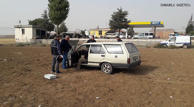 Otomobil terk edilmiş halde bulundu