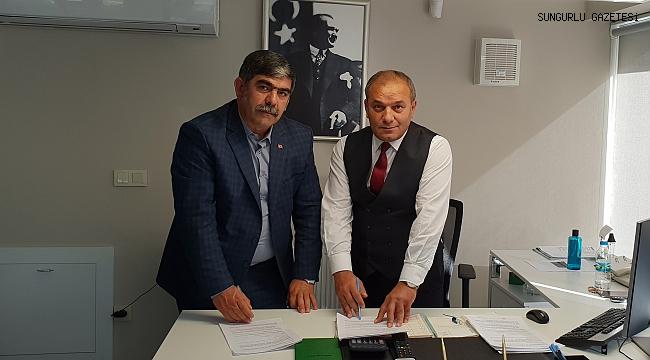 Çiftçiler için kredi anlaşması imzalandı