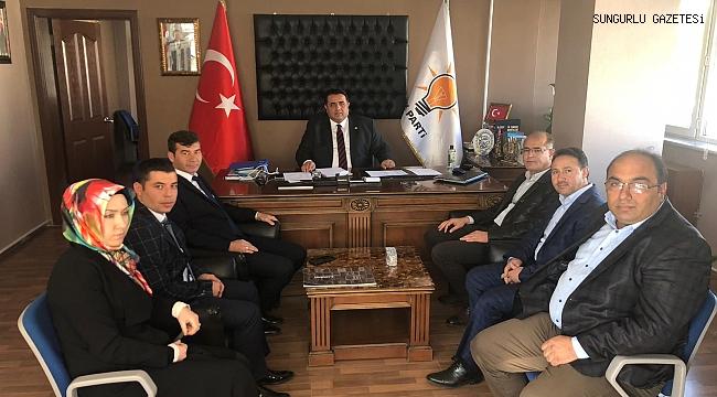 Milletvekili Kaya Yozgat'ta istişarelerde bulundu