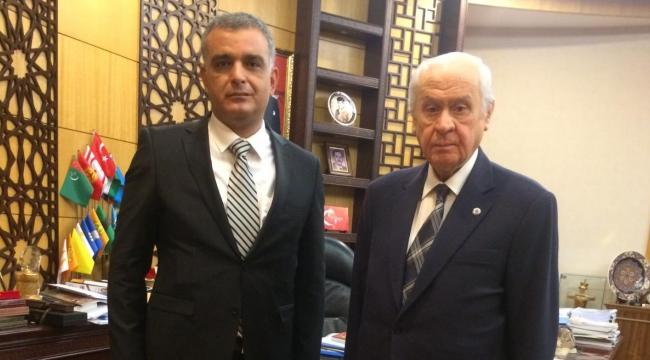 Kayıbeyi, MHP Lideri Bahçeli'yi ziyaret etti