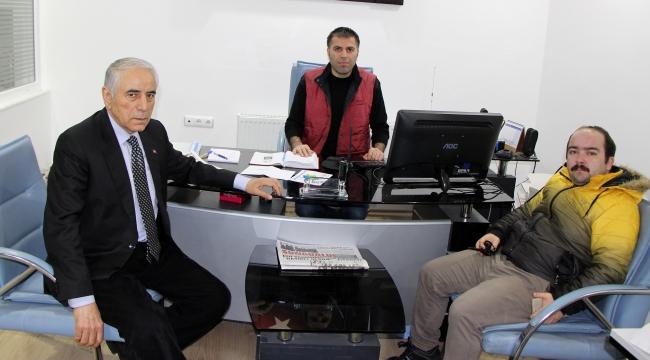 Osman Safçı, gazetemizi ziyaret etti