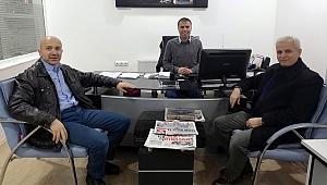 Türkiye Gazetesi Çorum Temsilcisi Bilgin'den ziyaret