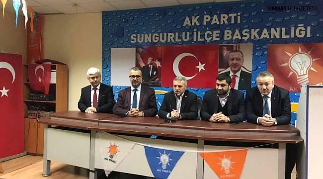 AK Parti İlçe Başkanlığı için temayül yoklaması yapıldı