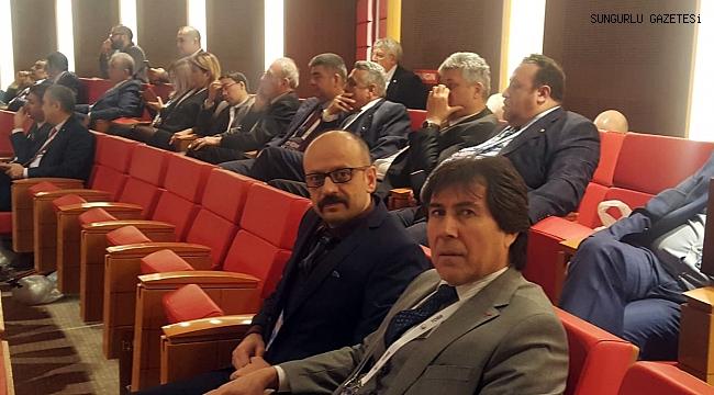 Behiç Akkaş, TOBB Türkiye Ekonomi Şurası'na katıldı
