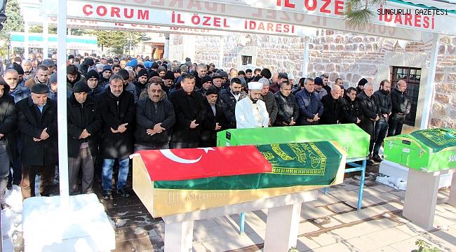 Durnaoğlu, Çakan ve Kozan son yolculuklarına uğurlandı