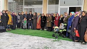 Şaban Köyhanoğlu MHP'li kadınlarla bir araya geldi