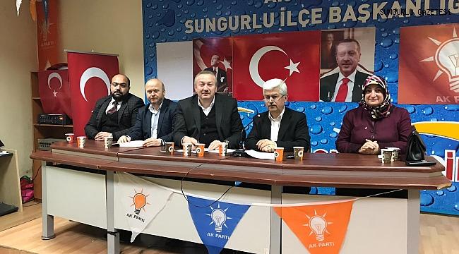 AK Parti'de istişare toplantısı gerçekleştirildi