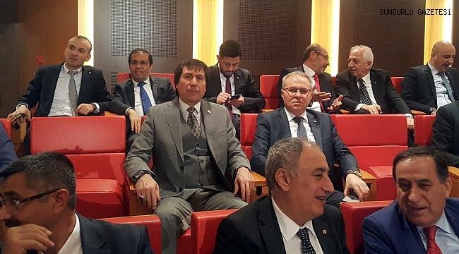 İstihdam Seferberliği toplantısına katıldılar