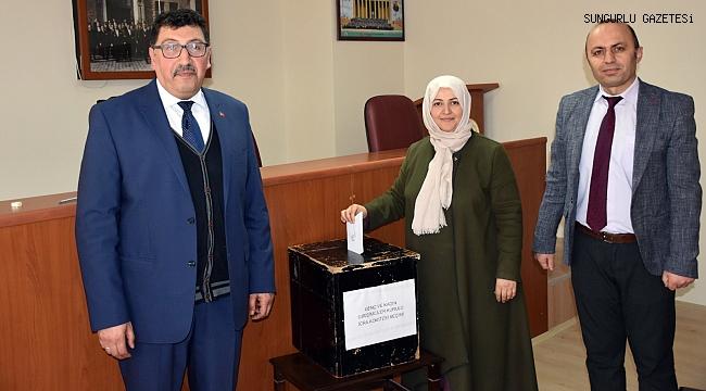 Kadın ve genç girişimciler icra komitesi seçimleri yapıldı