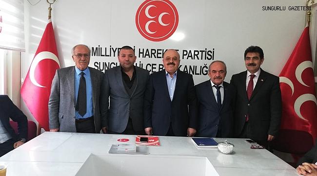 MHP'de Belediye Meclis Üyeliğine yoğun ilgi