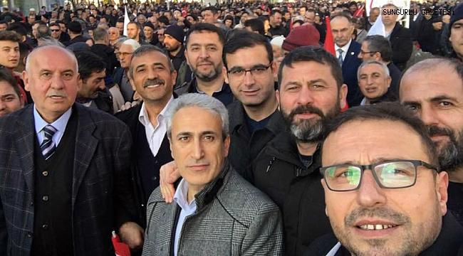 Sungurlu Erdoğan için Çorum'a çıkarma yaptı