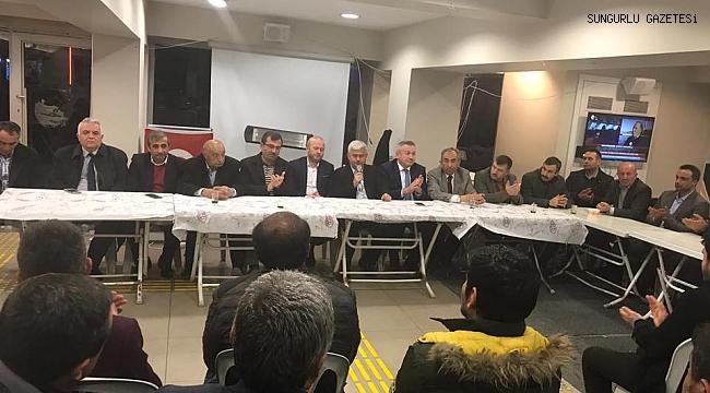 AK Parti Sungurlu'da kenetlendi