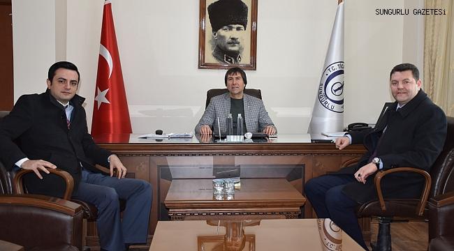 Erkan Bozkurt'tan, Behiç Akkaş'a veda ziyareti