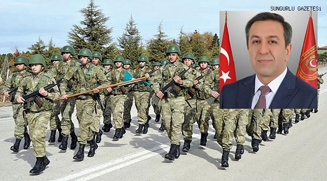 Muhsin Dere'den Sungurlu'ya askeri birlik sözü