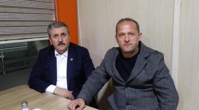 Mustafa Destici, Sungurlu'da mola verdi