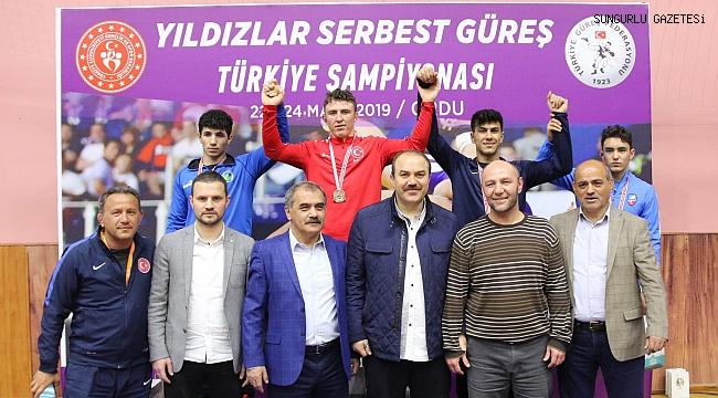 Sungurlulu Eren Kalkan, Türkiye üçüncüsü oldu