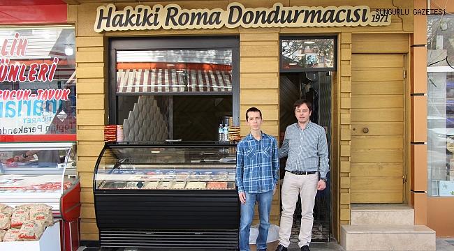 Hakiki Roma Dondurmacısı sezonu açtı