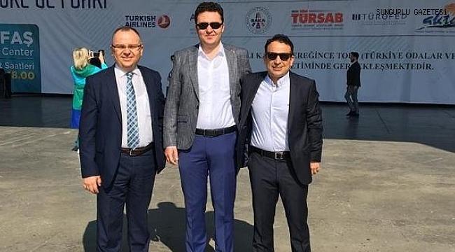 Hemşehrimiz  Murat Bitgen Hestourex Fuarına katıldı