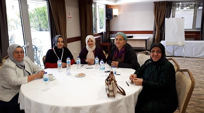 Sungurlulu kadın girişimcilere Ankara'da övgü dolu sözler