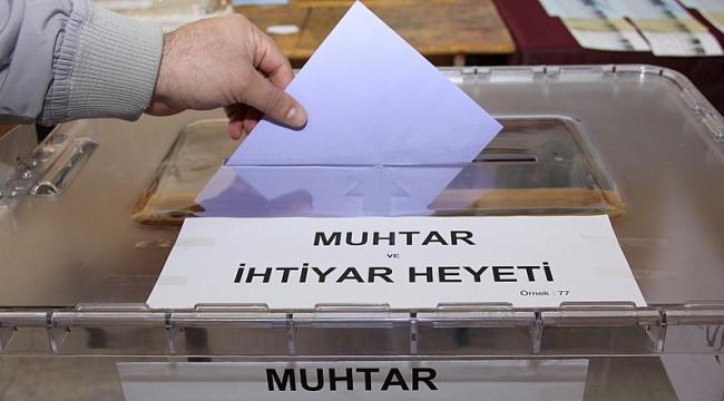 9 muhtarlık için yeniden seçim yapılacak