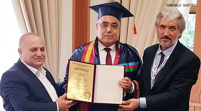 Ali Baklan'a 'Fahri Doktora' unvanı verildi