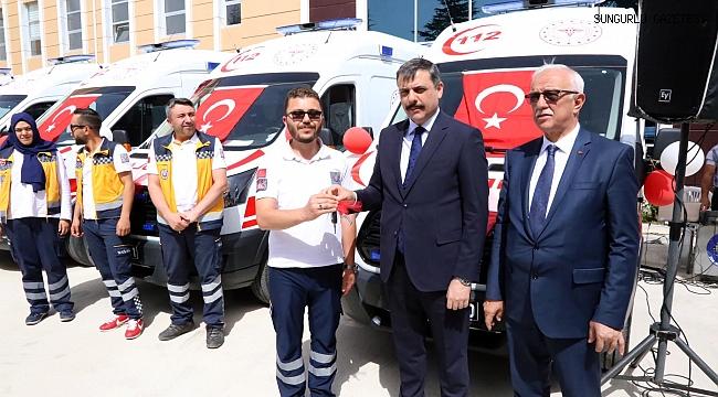 Sungurlu 112'ye tam donanımlı ambulans