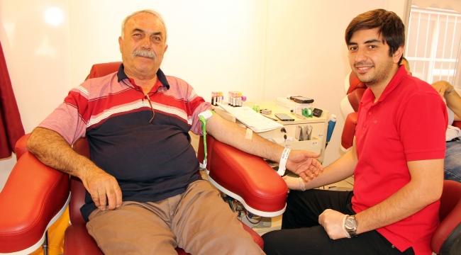 27 yılda 59 kez kan bağışında bulundu