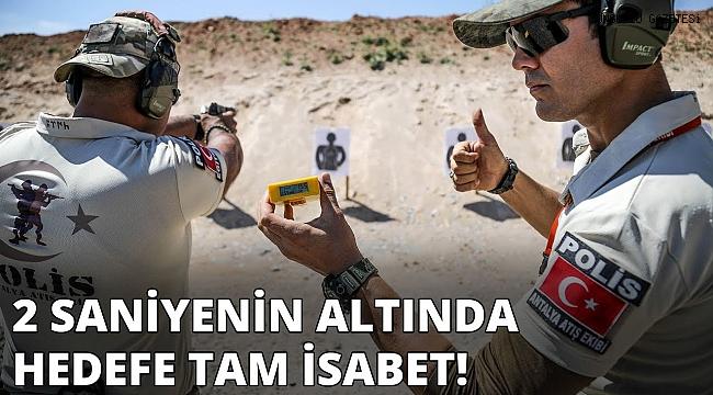 Hemşehrimiz 'Yıldırım Osman'dan hedefe tam isabet