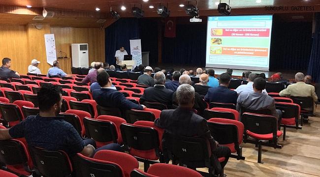 TKDK tanıtım toplantısı düzenledi