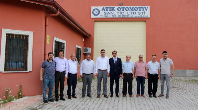 Atik Otomotiv'i ziyaret ettiler
