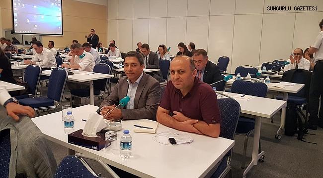 Mehmet Ali Karslı, TOBB'da oryantasyon eğitimine katıldı