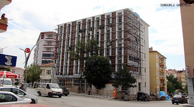 Sağlık kompleksi inşaatının yüzde 80'i tamamlandı