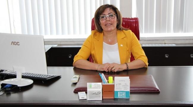 Sakine Sarıyüce Belediye Başkan Yardımcısı oldu