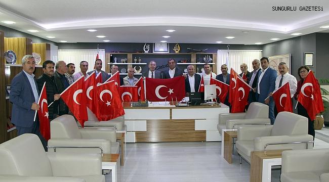 Belediye Meclisi'nden Barış Pınarı'na destek
