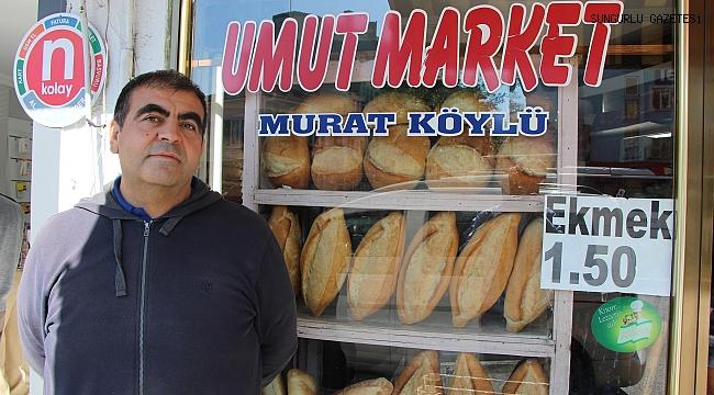 İlçenin meşhur marketi Murat Köylü