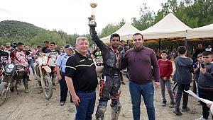 İlyas Uzunkaya Osmancık'ta ikinci oldu
