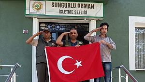 Mehmetçiğe selam gönderdiler