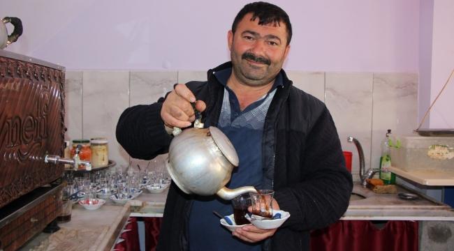 Sungurlu'nun tecrübeli çaycısı Arif Körpe