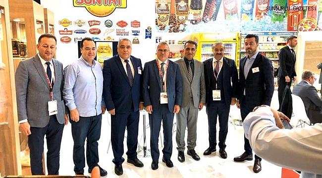 SUNTAT, dünyanın en büyük gıda fuarına katıldı