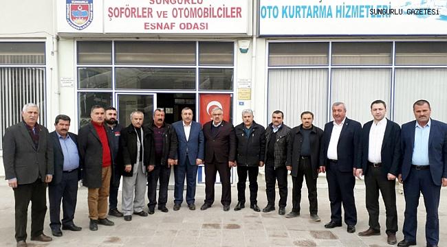 YENİ BAŞKAN İSMAİL POZAN'I KUTLADI