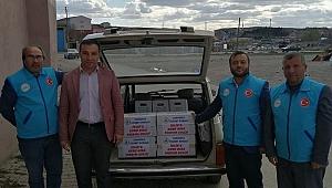 TİCARET BORSASI İDLİB'E GIDA YARDIMINDA BULUNDU