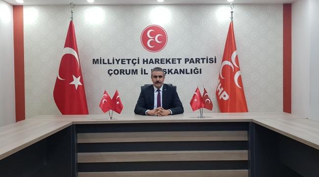 KARAPIÇAK, MHP'Lİ BELEDİYE BAŞKANLARINA TEŞEKKÜR ETTİ